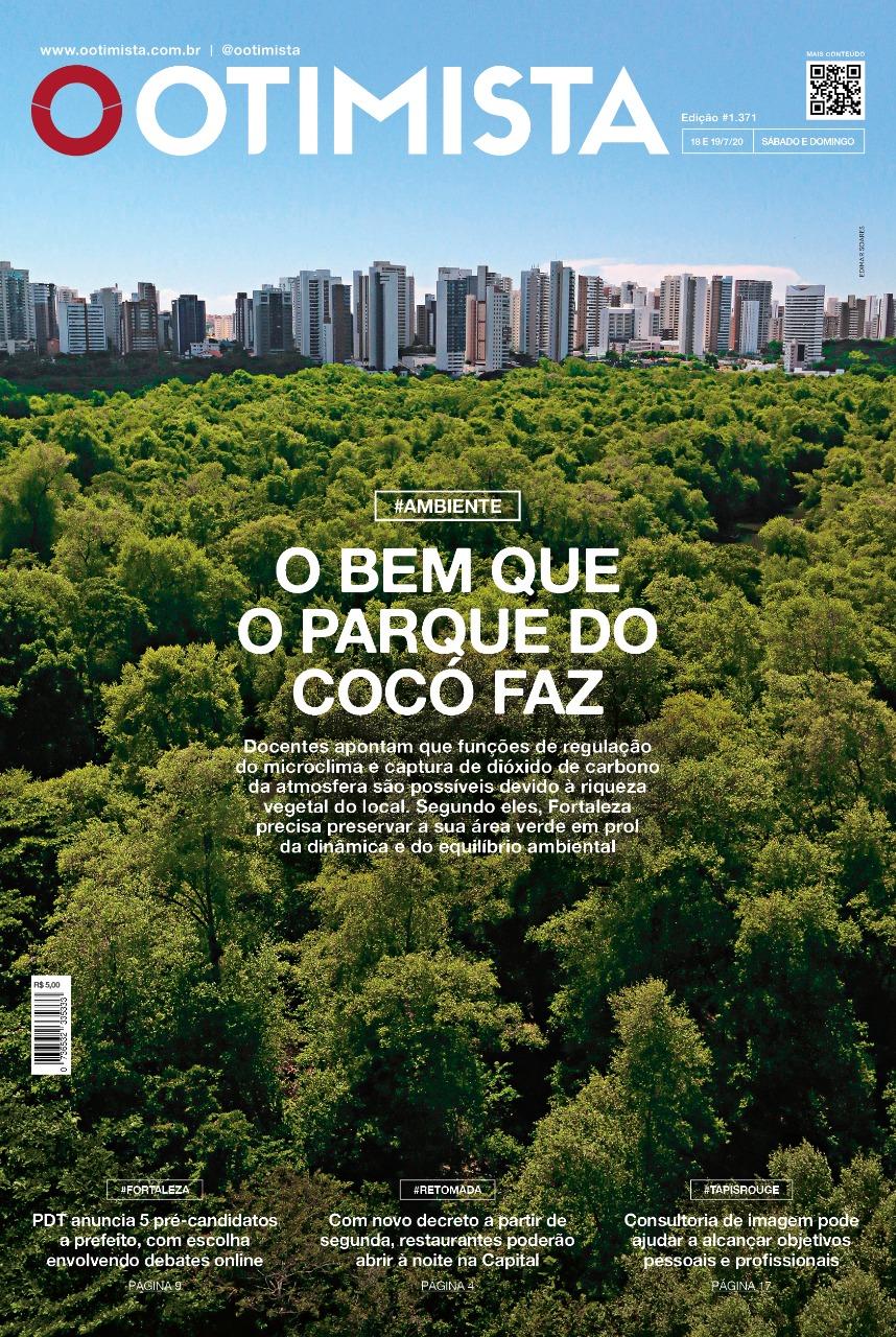 O Otimista - Edição impressa de 18 e 19/07/2020