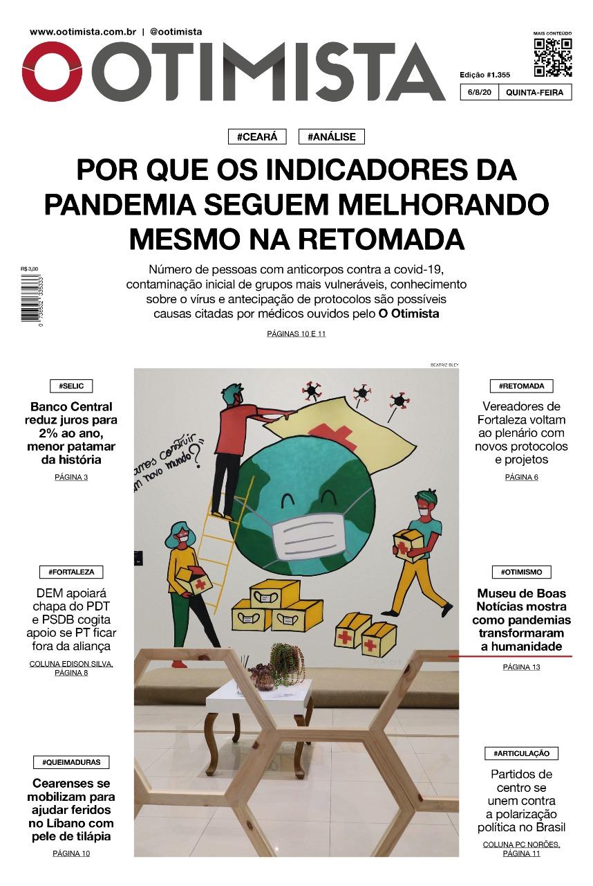 O Otimista - Edição impressa de 06/08/2020