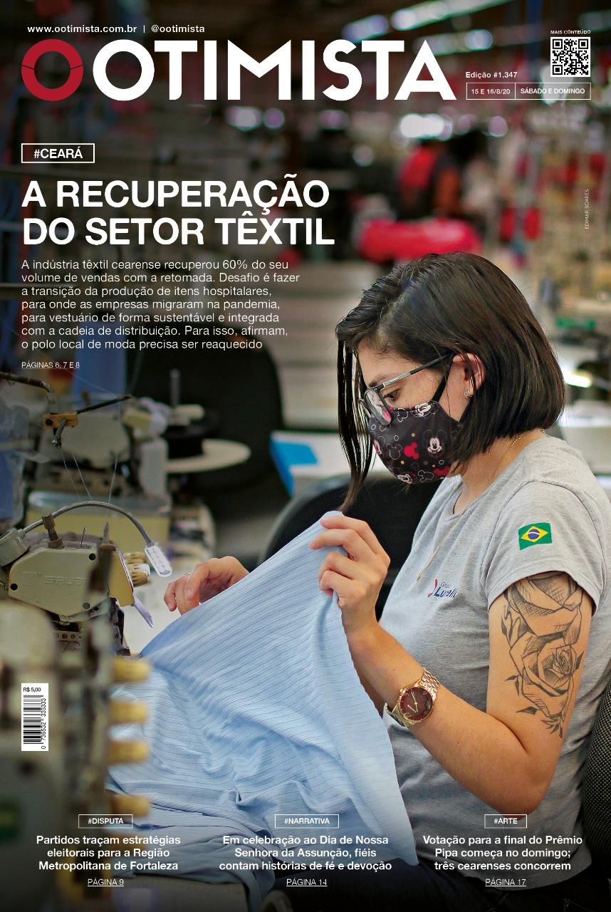 O Otimista - Edição impressa de 15 a 16/08/2020