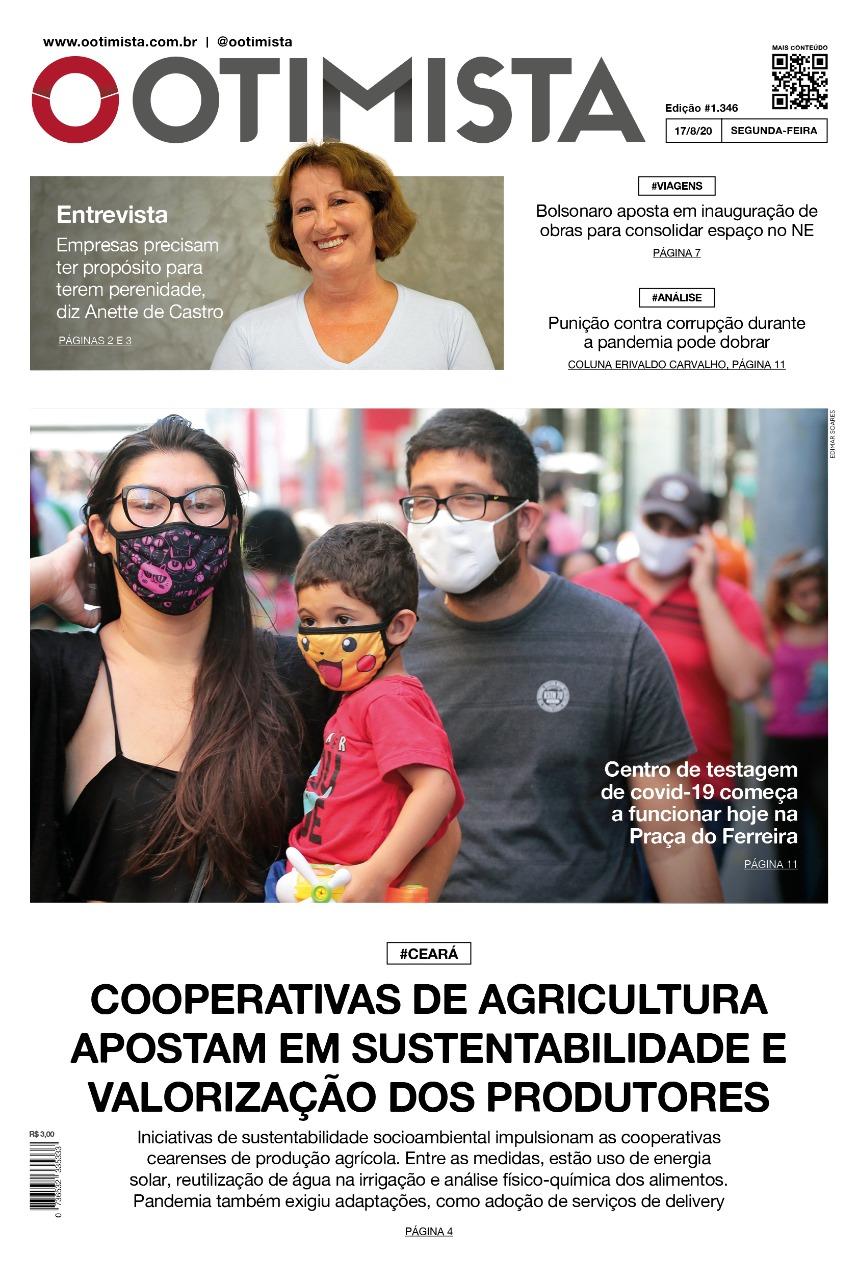 O Otimista - Edição impressa de 17/8/2020