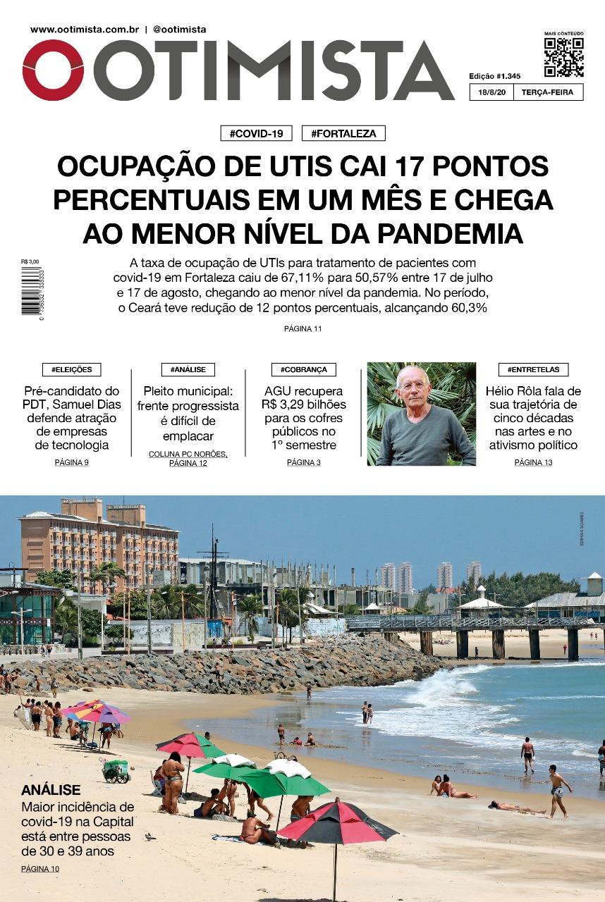 O Otimista - Edição impressa de 18/08/2020