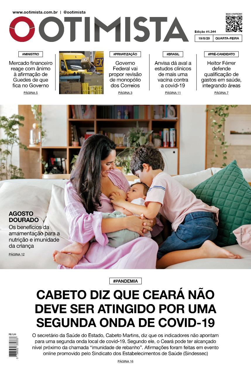 O Otimista - Edição impressa de 19/08/2020