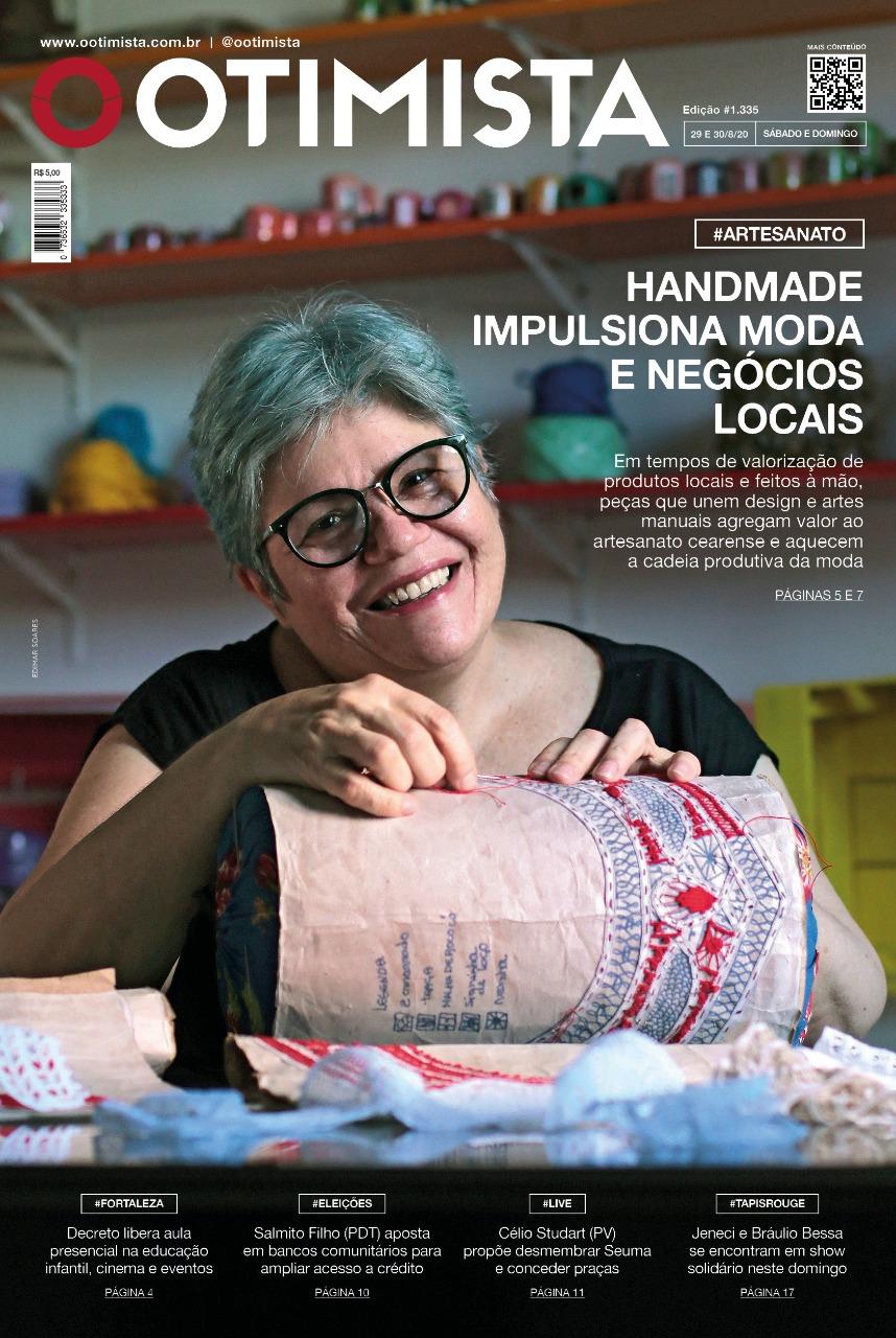 O Otimista - Edição impressa de 29 a 30/08/2020