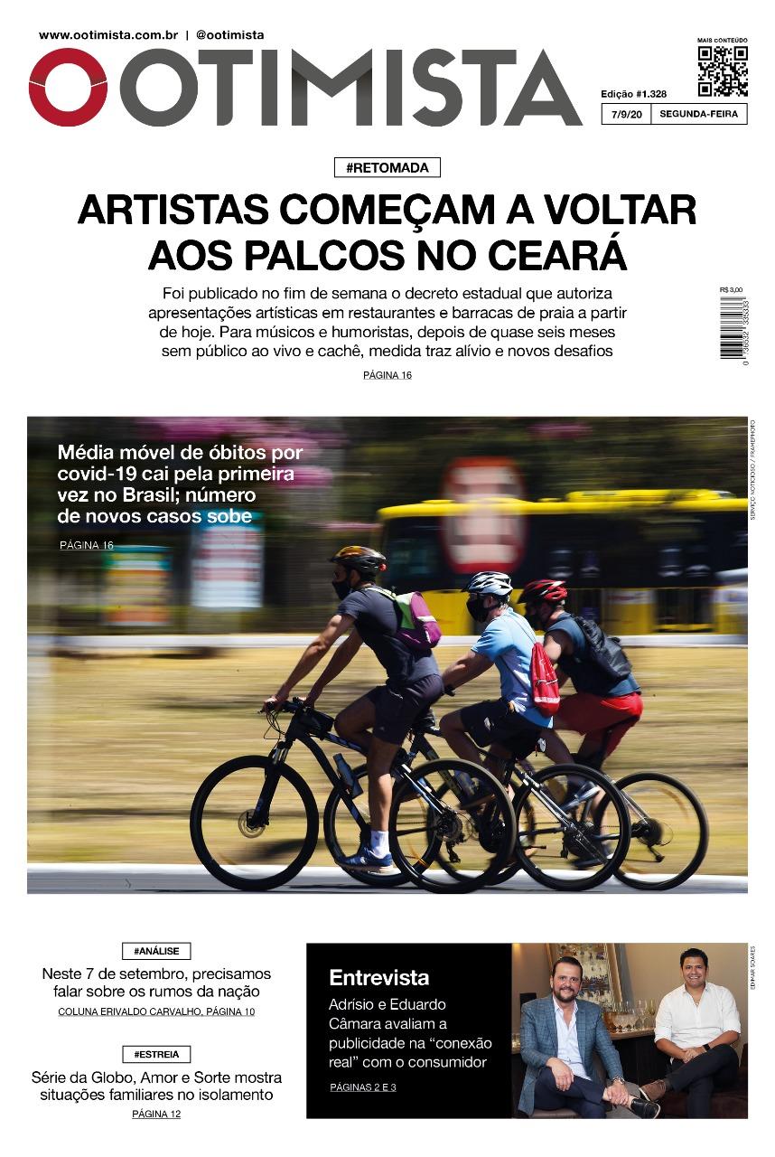 O Otimista - edição impressa de 7/9/2020