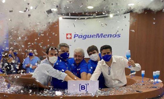 Ação da Pague Menos (PGMN3) fecha com alta de 21,18% e captação de R$ 859 milhões em seu primeiro pregão