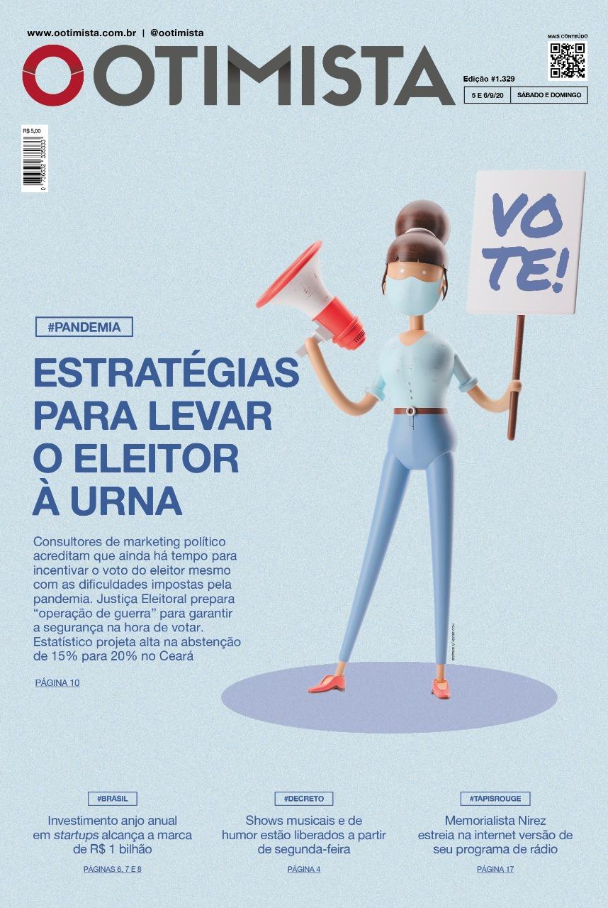 O Otimista - Edição impressa de 05 a 06/09/2020