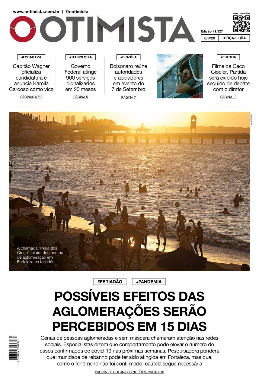 O Otimista - Edição impressa de 08/09/2020