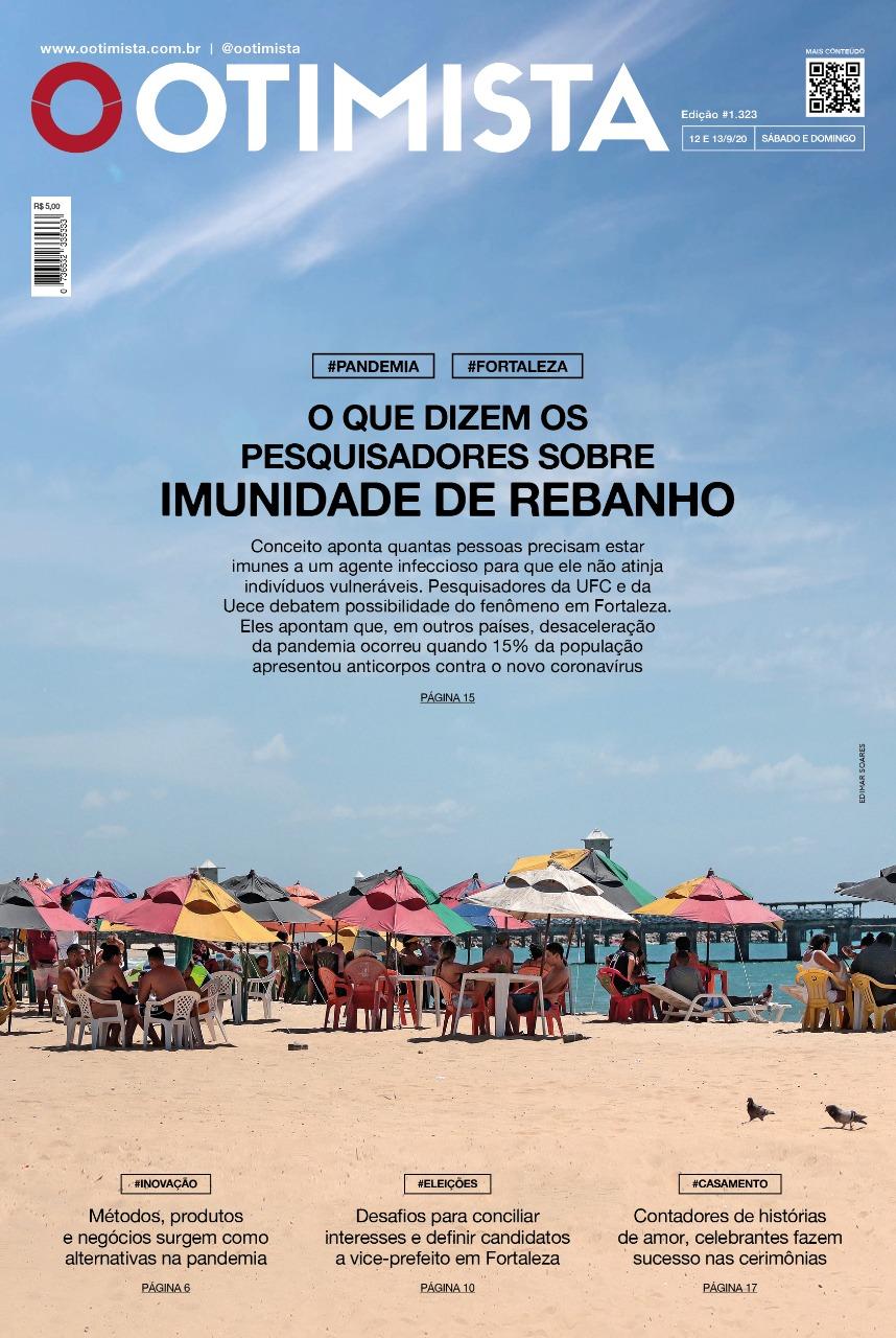 O Otimista - Edição impressa de 12 a 13/09/2020