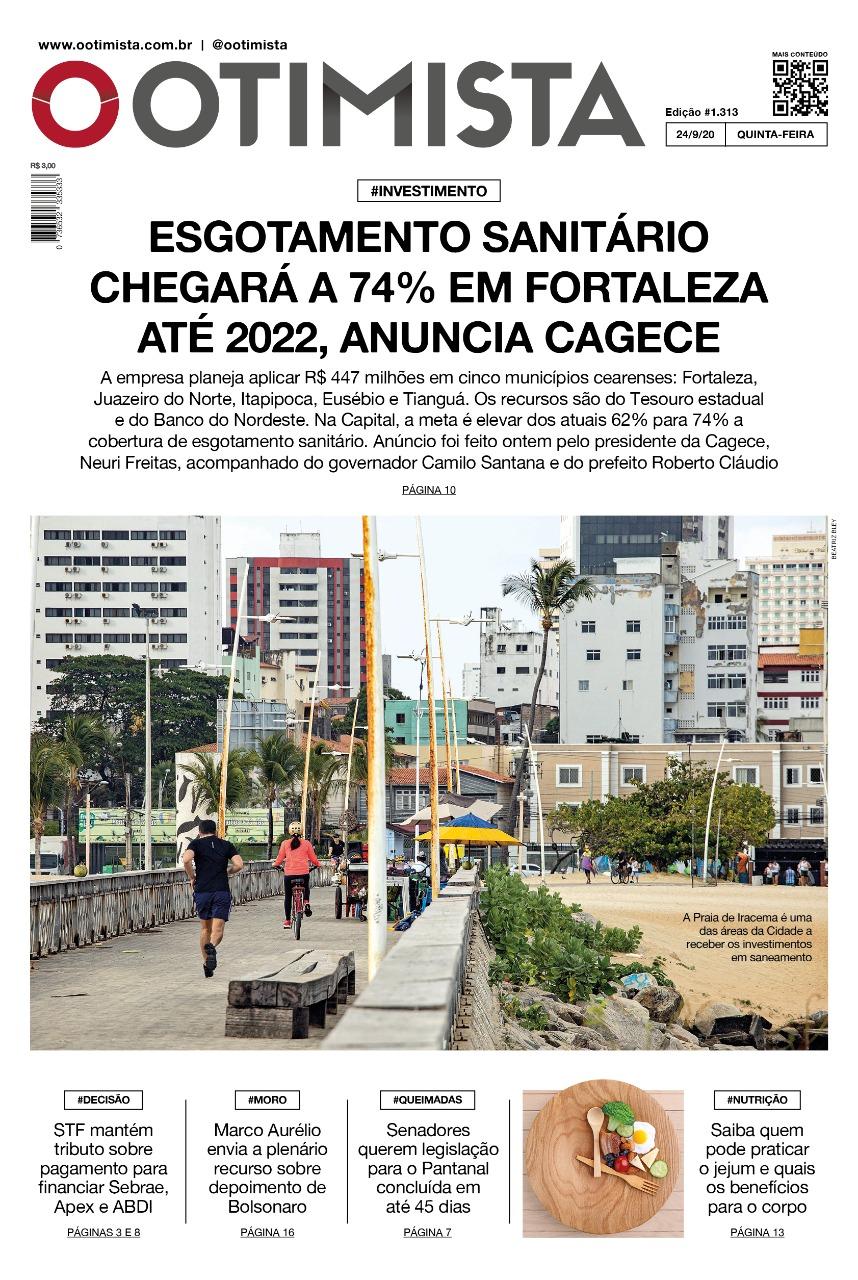 O Otimista - Edição impressa de 24/09/2020