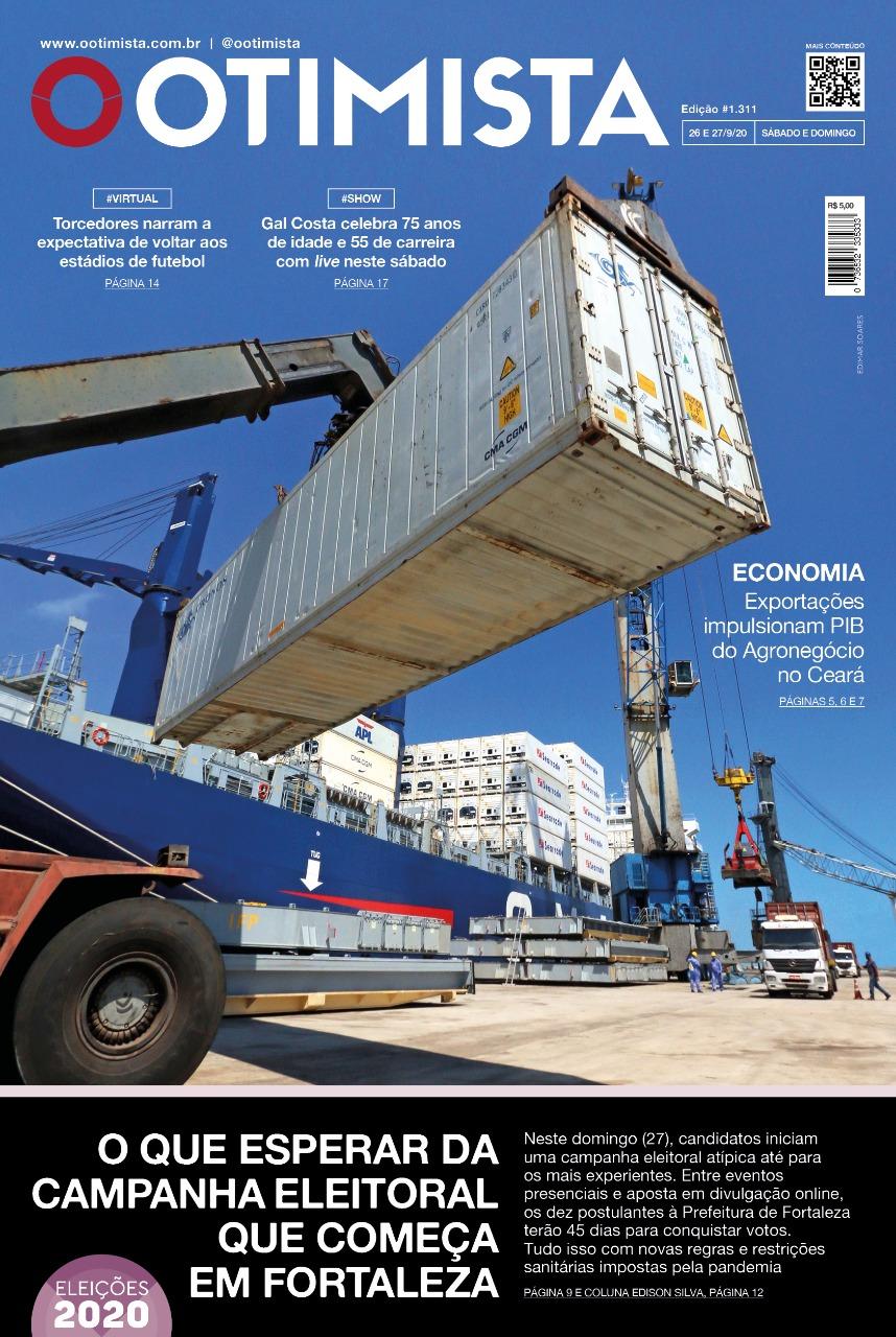 O Otimista - Edição impressa de 26 a 27/09/2020