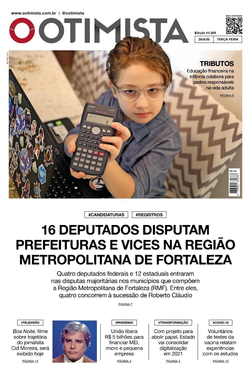O Otimista - Edição impressa de 29/09/2020