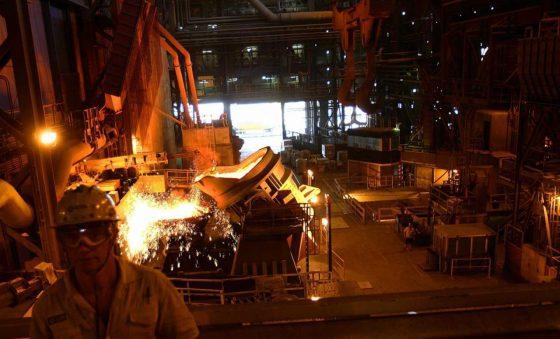 Produção brasileira de aço apresenta aumento de 7,5% em setembro