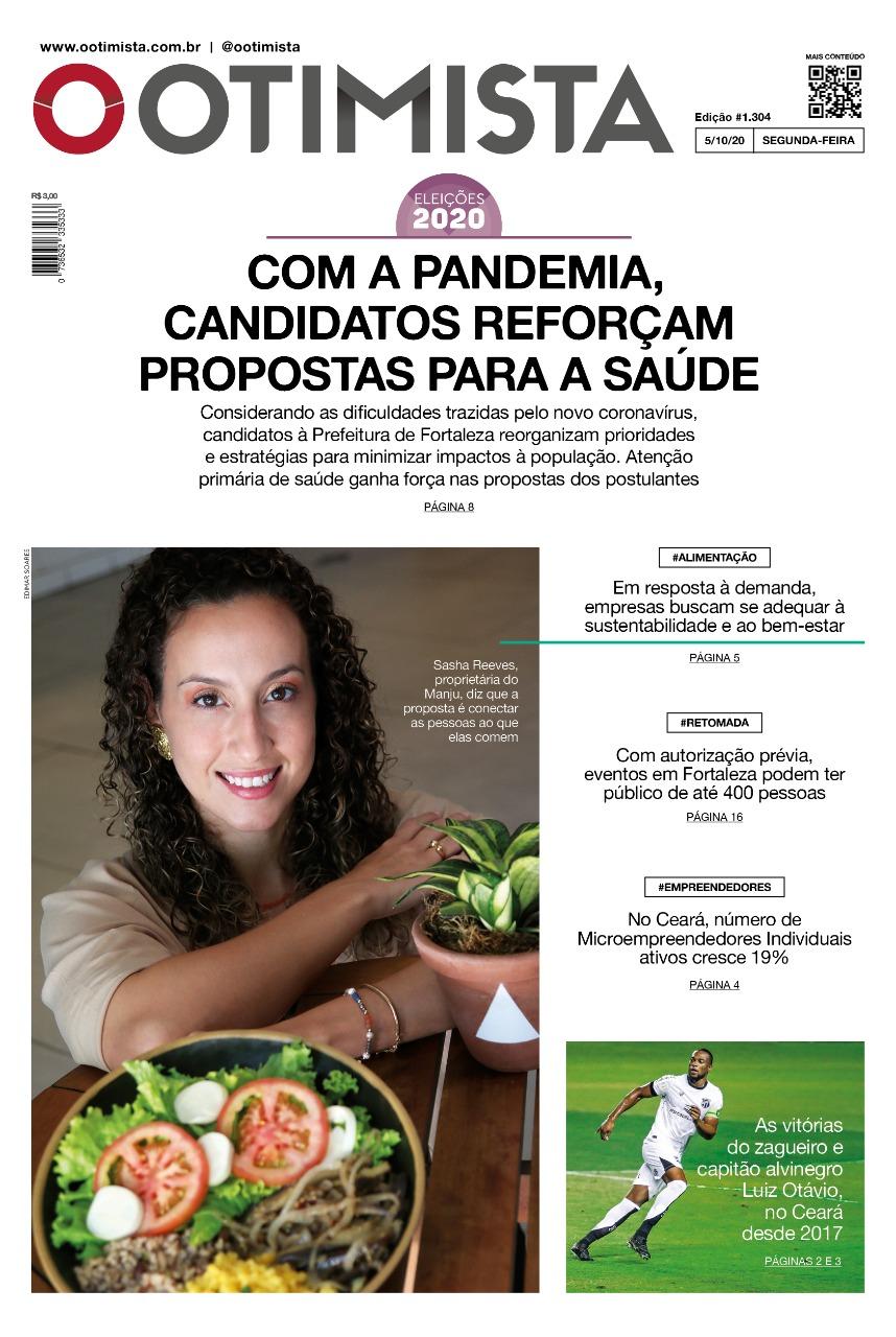 O Otimista - edição impressa de 5/10/2020