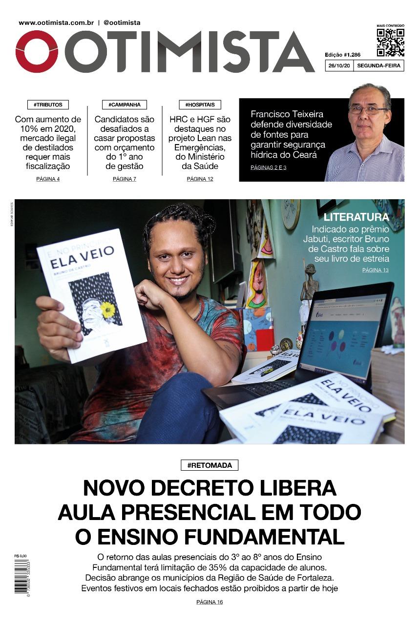 O Otimista - edição impressa de 25/10/2020