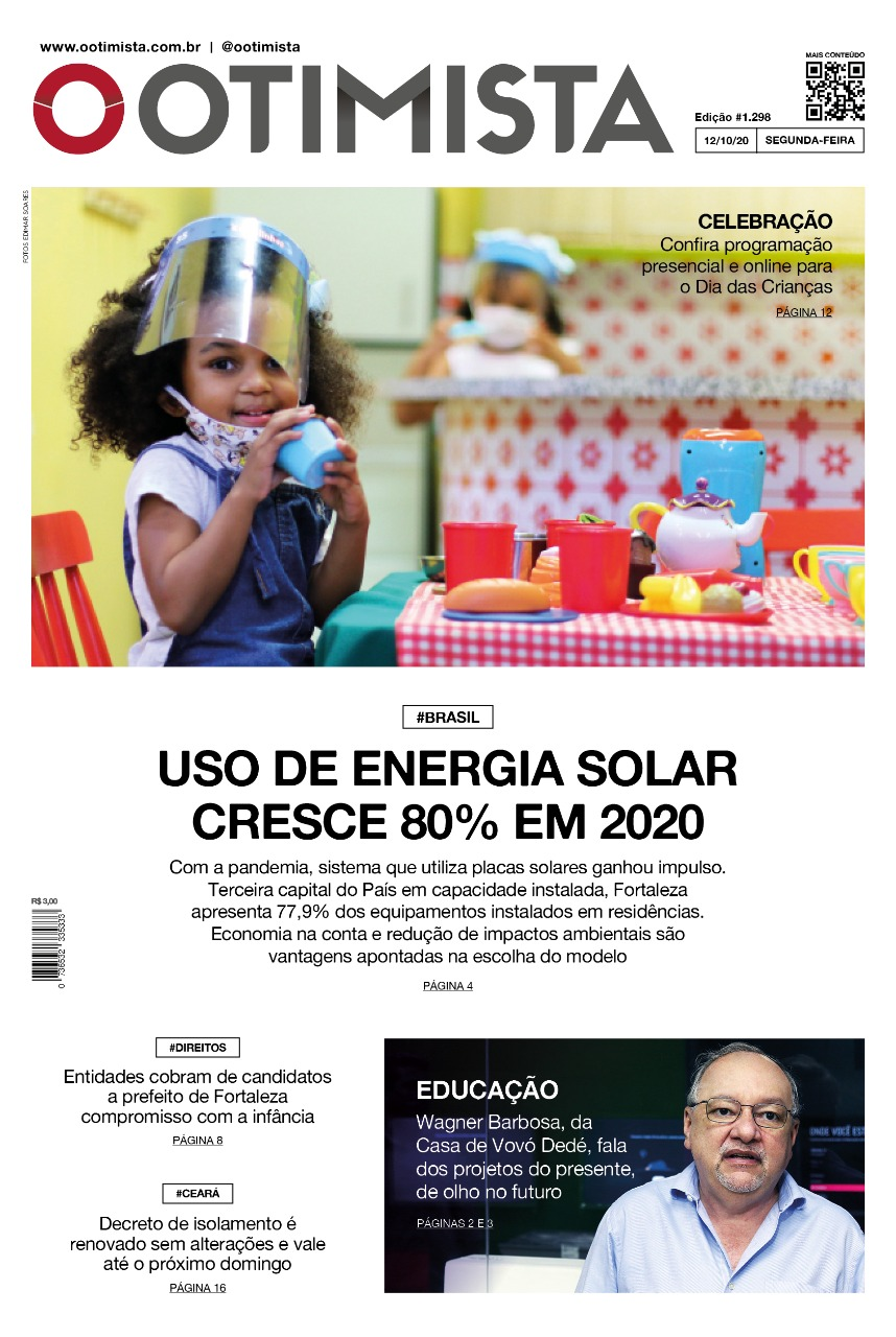O Otimista - edição impressa de 12/10/2020