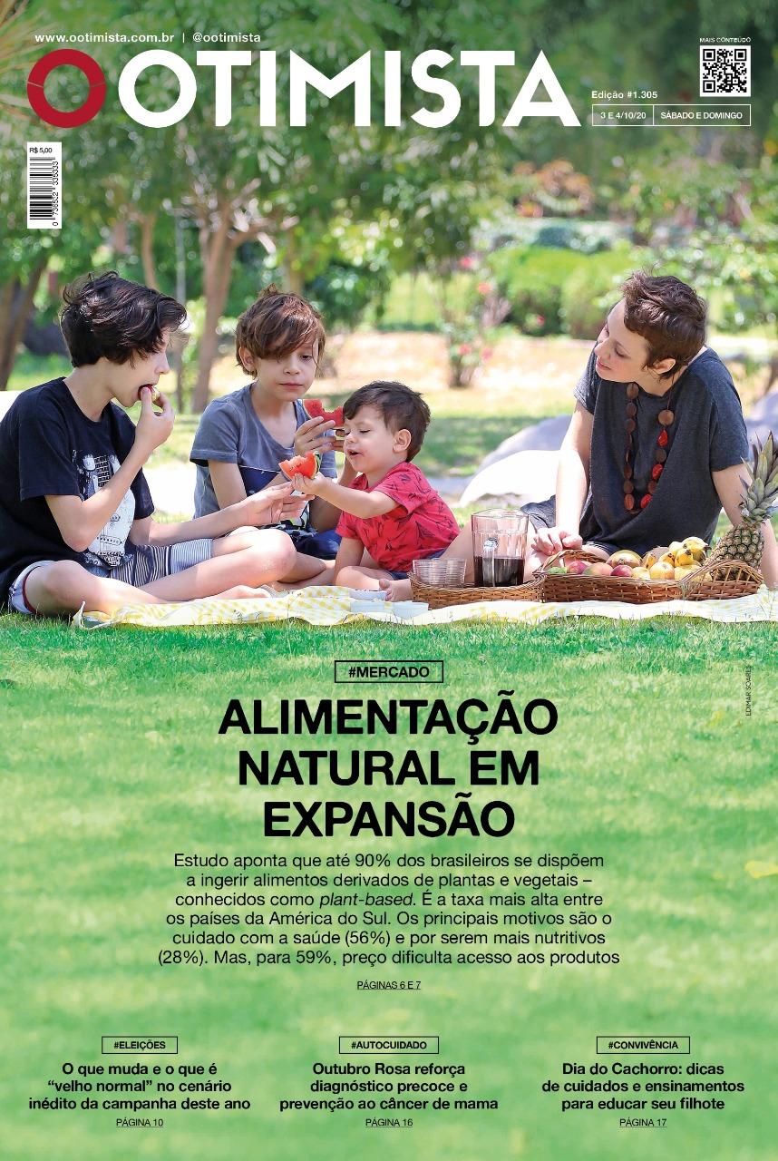 O Otimista - Edição impressa de 03 a 04/10/2020