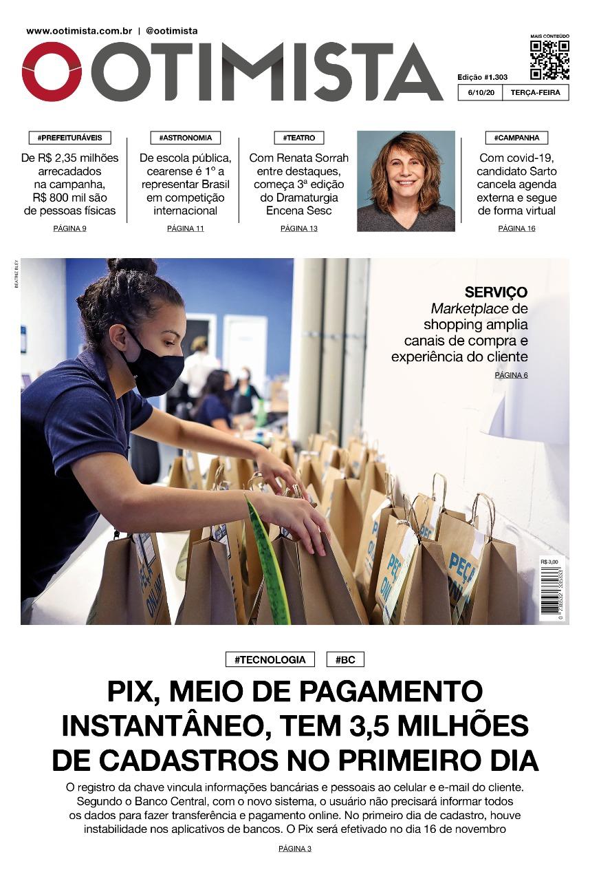 O Otimista - Edição impressa de 06/10/2020