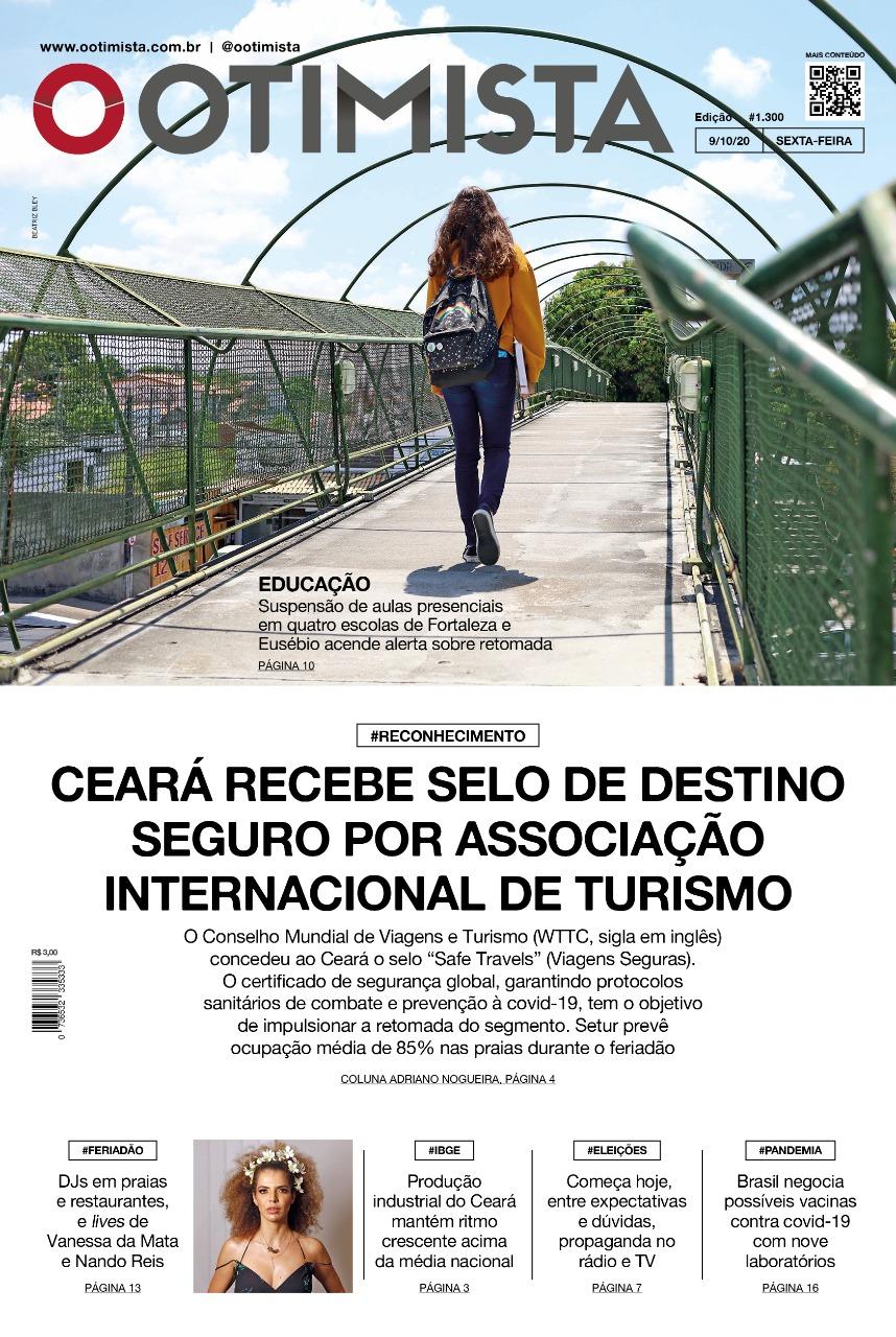 O Otimista - Edição impressa de 09/10/2020