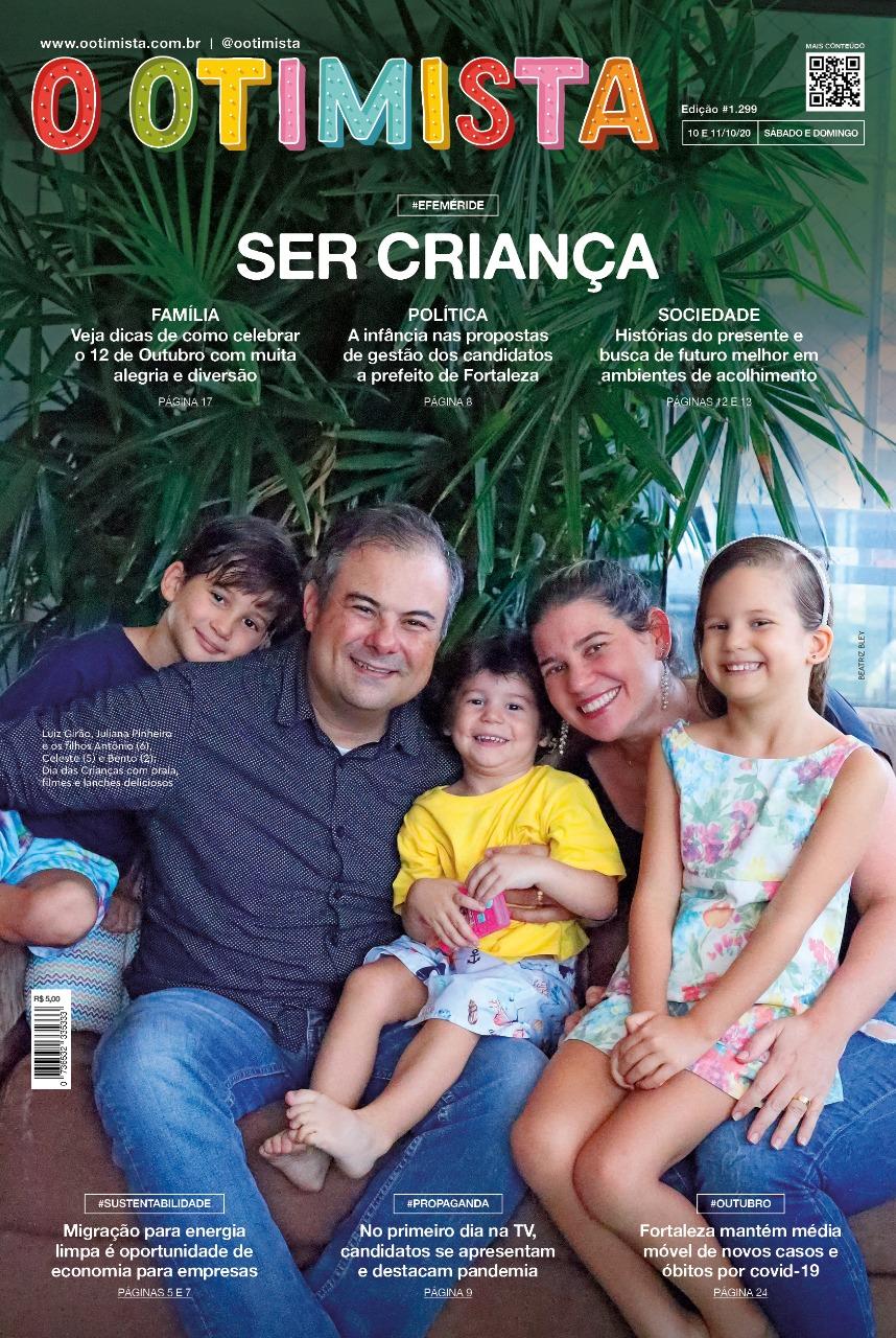 O Otimista - Edição impressa de 10 e 11/10/2020
