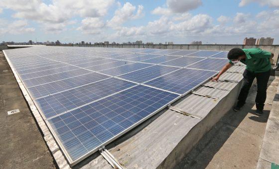 Energia solar lidera escolha entre empresas