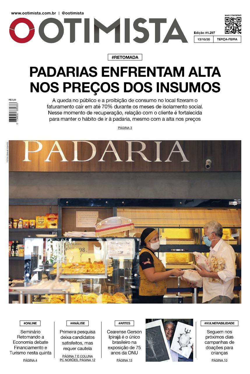 O Otimista - Edição impressa de 13/10/2020
