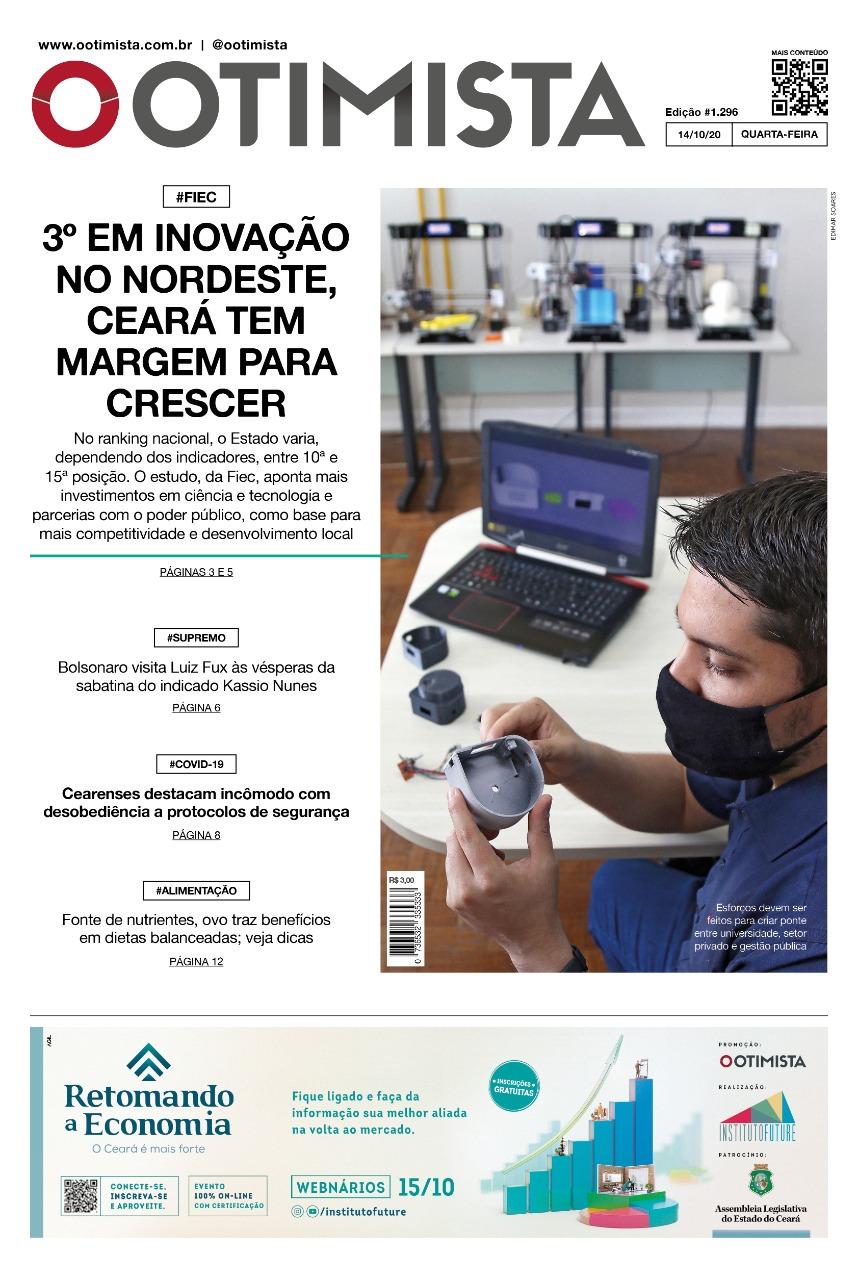 O Otimista - Edição impressa de 14/10/2020