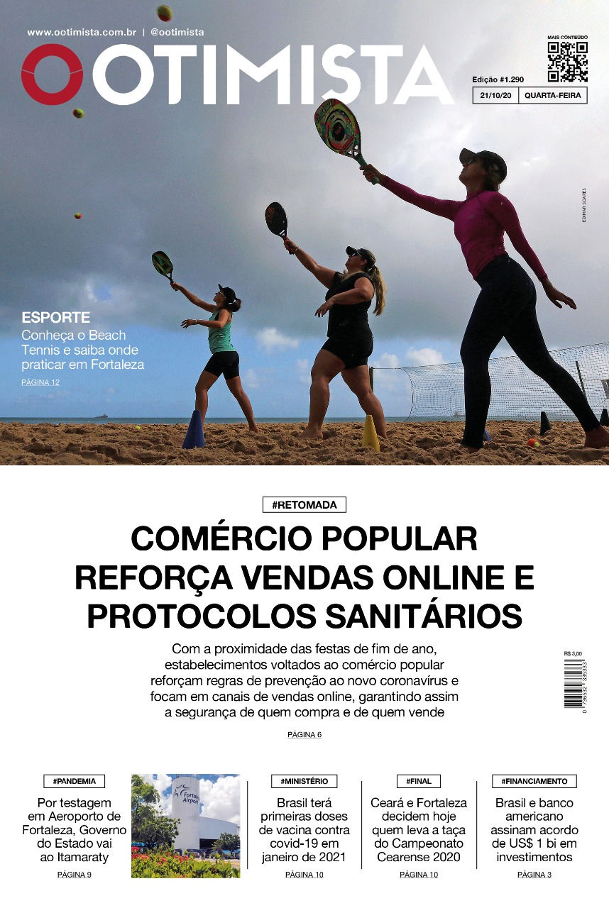 O Otimista - Edição impressa de 21/10/2020