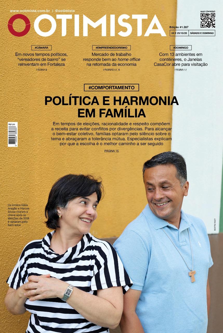 O Otimista - Edição impressa de 24 e 25/10/2020