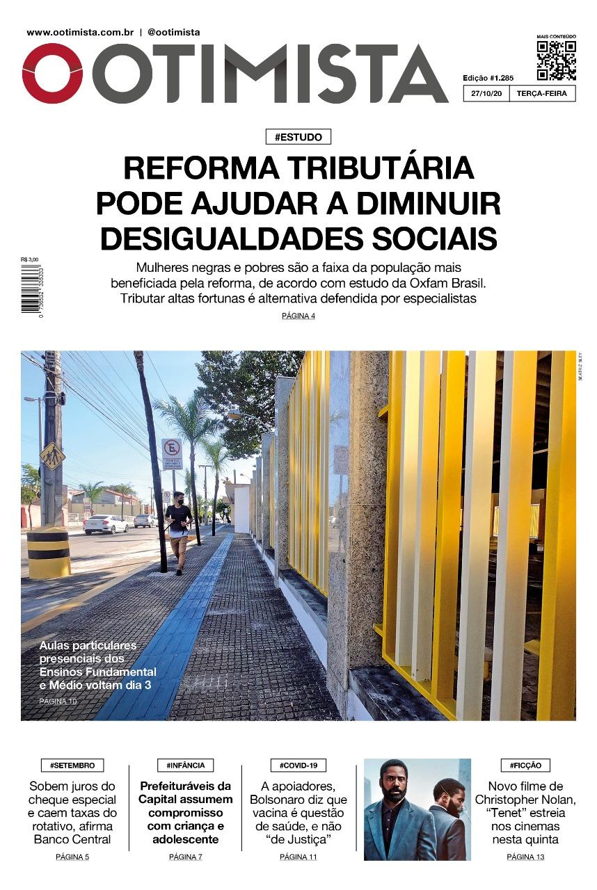 O Otimista - Edição impressa de 27/10/2020
