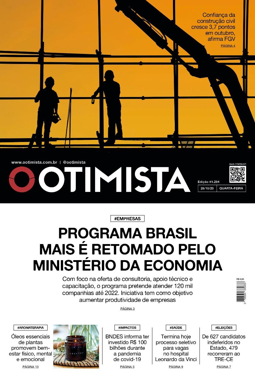 O Otimista - Edição impressa de 28/10/2020
