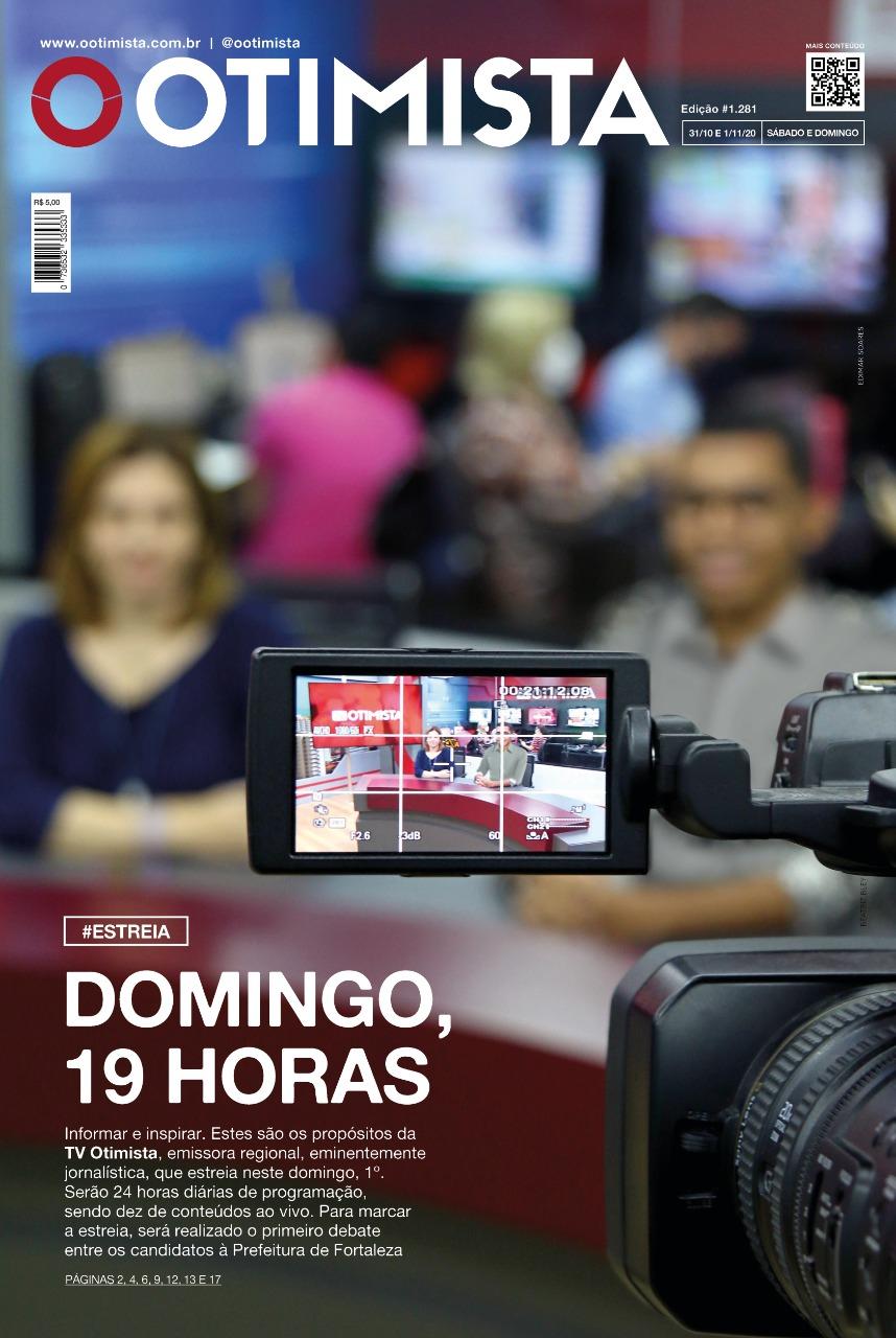 O Otimista - Edição impressa de 31/10 e 01/11/2020