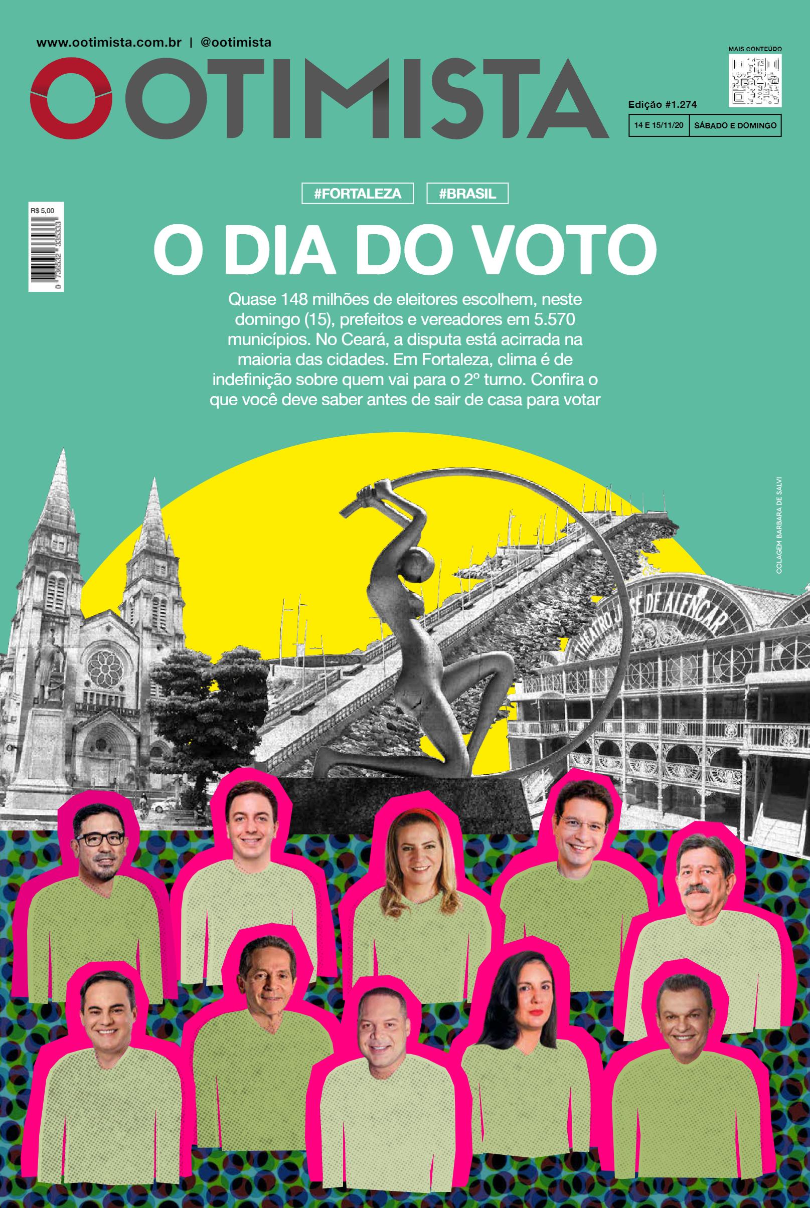 O Otimista – Edição impressa de 14 e 15/11/2020