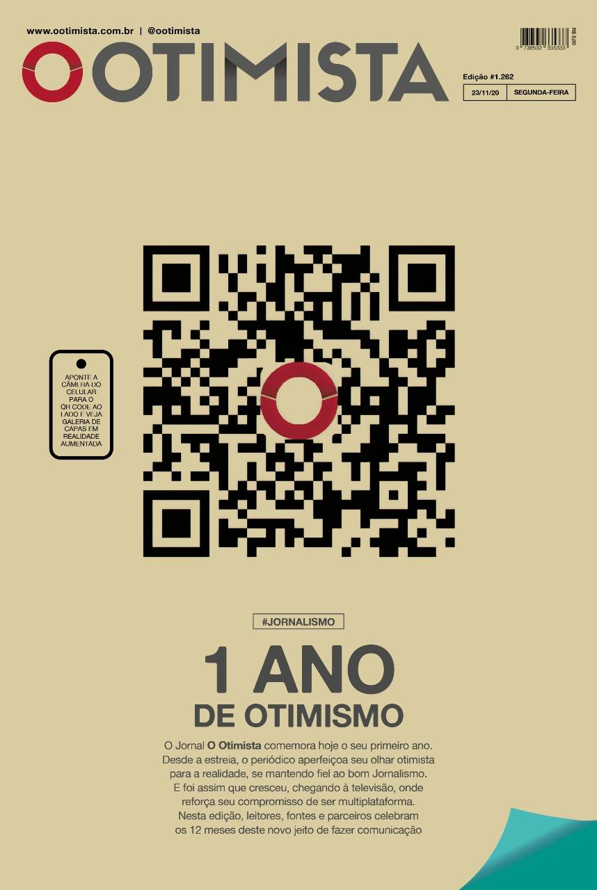 O Otimista - Edição impressa de 23/11/2020
