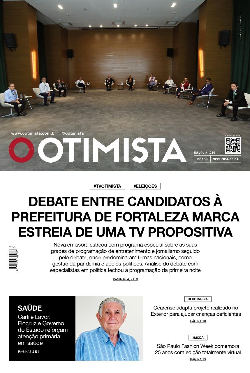 O Otimista - Edição impressa de 02/11/2020