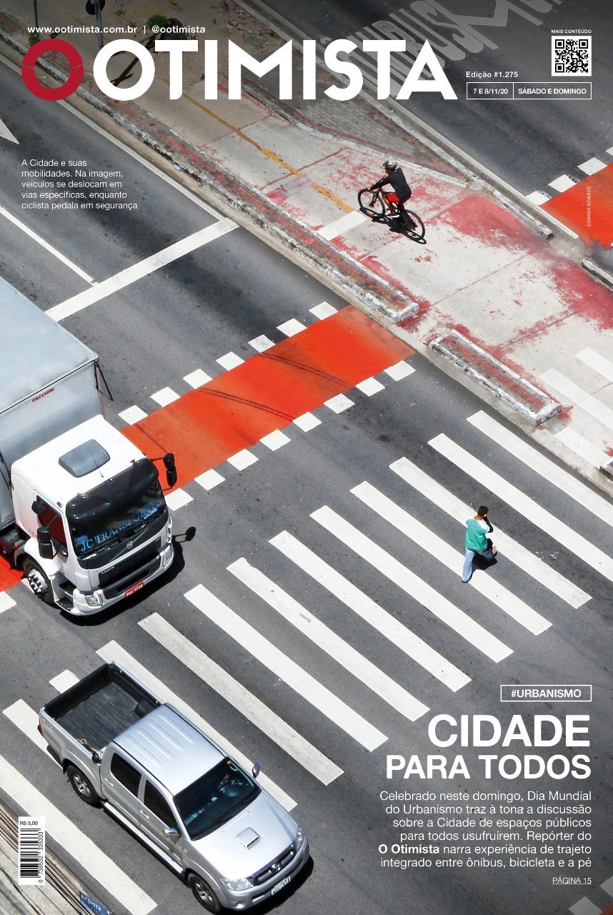 O Otimista - Edição impressa de 07 e 08/11/2020