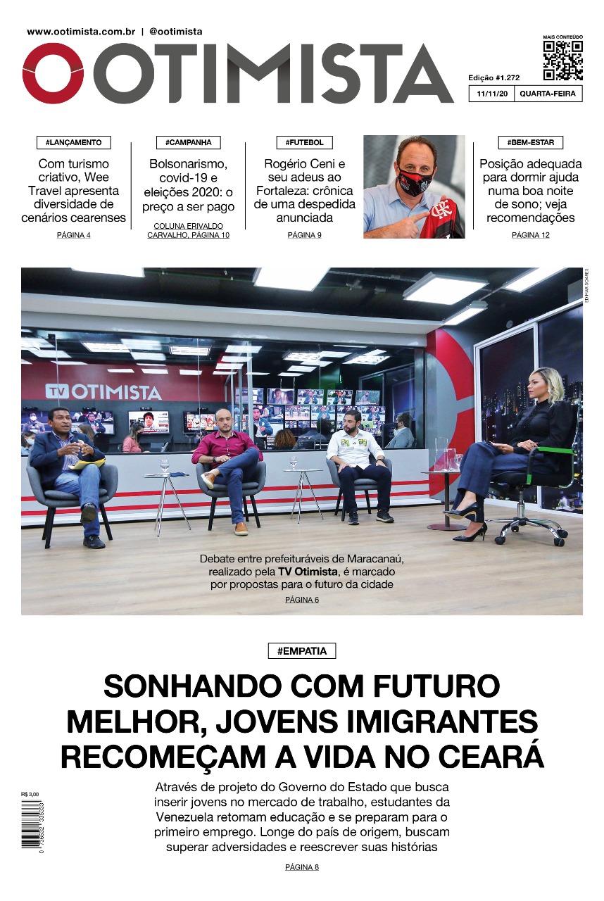 O Otimista - Edição impressa 11/11/2020