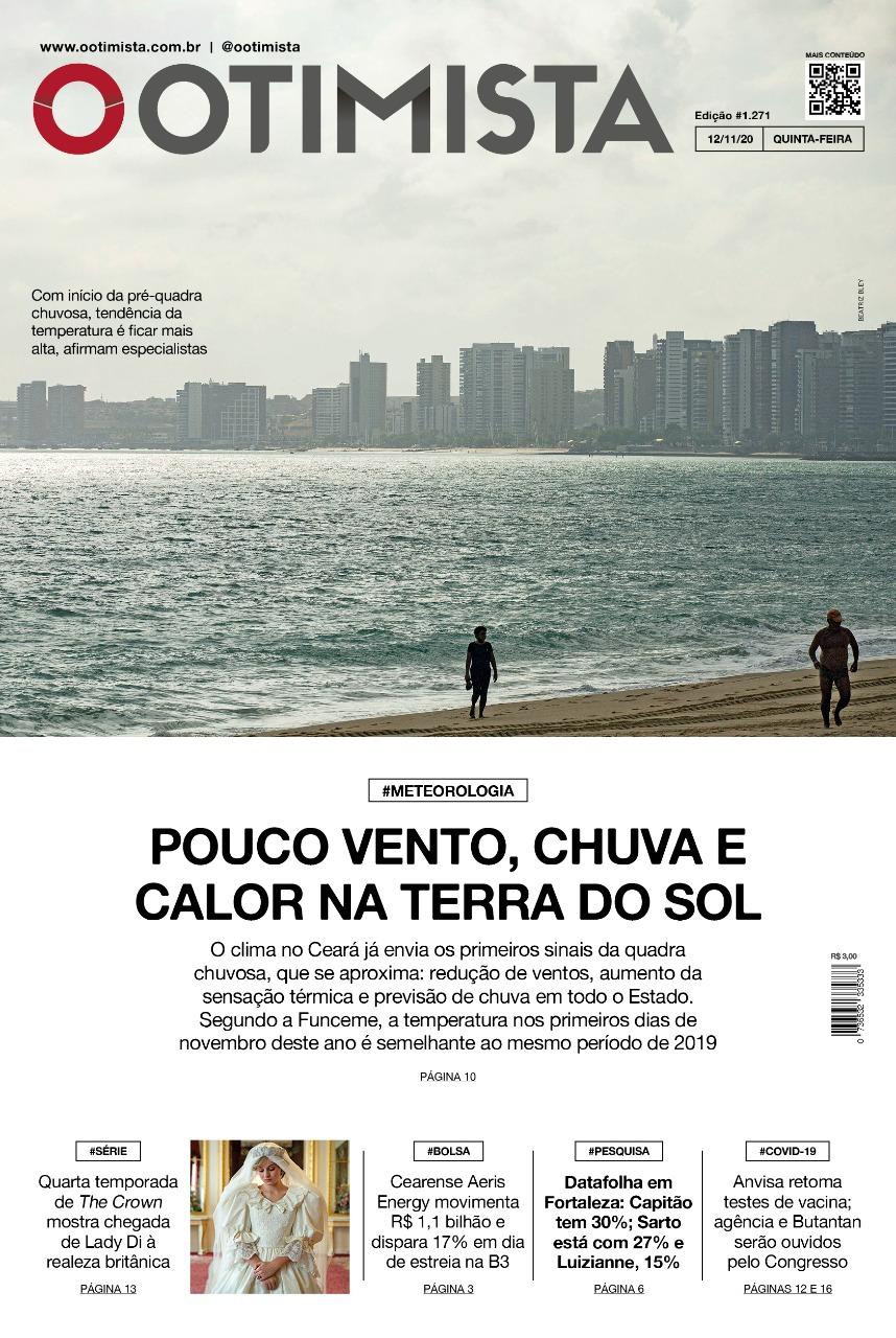 O Otimista - Edição impressa de 12/11/2020