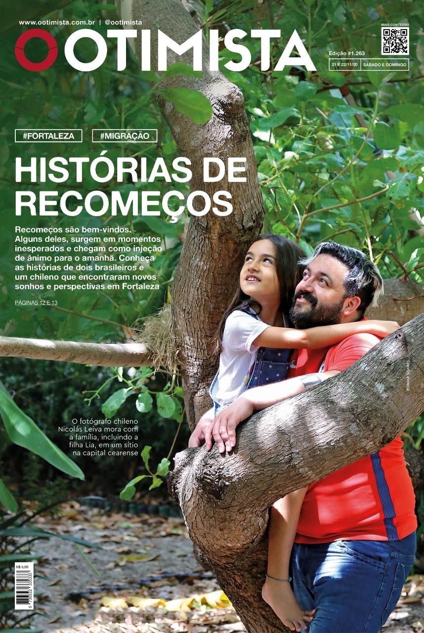 O Otimista- Edição impressa de 21 e 22/11/2020