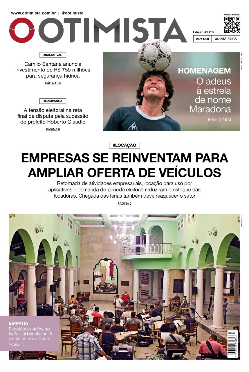 O Otimista - Edição impressa de 26/11/2020