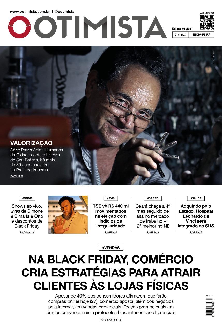 O Otimista - Edição impressa de 27/11/2020