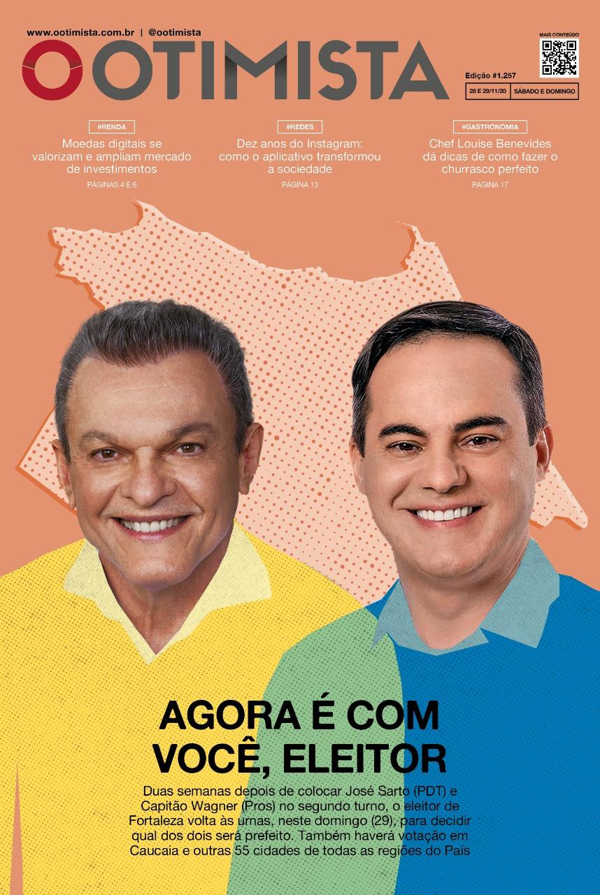 O Otimista - Edição impressa de 28 e 29/11/2020