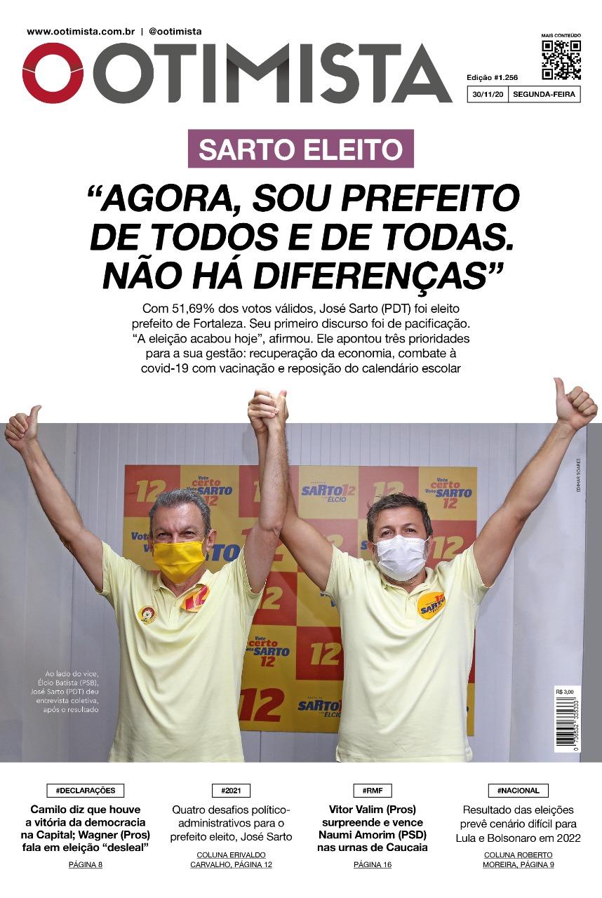 O Otimista – Edição impressa de 30/11/2020