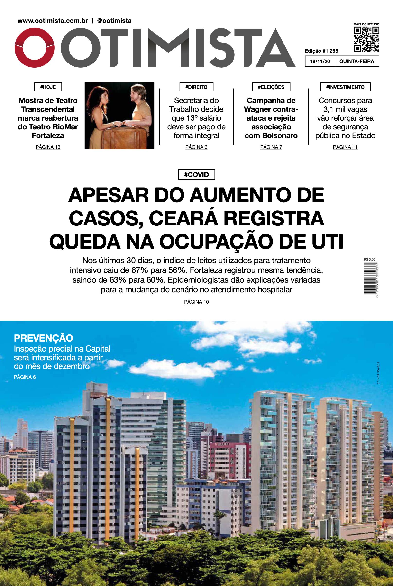 O Otimista – Edição impressa de 19/11/2020