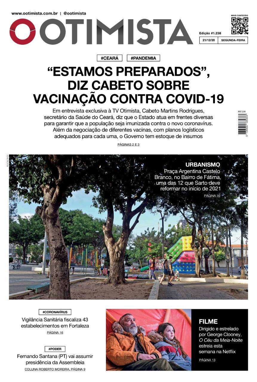 O Otimista - edição de 21/12/2020