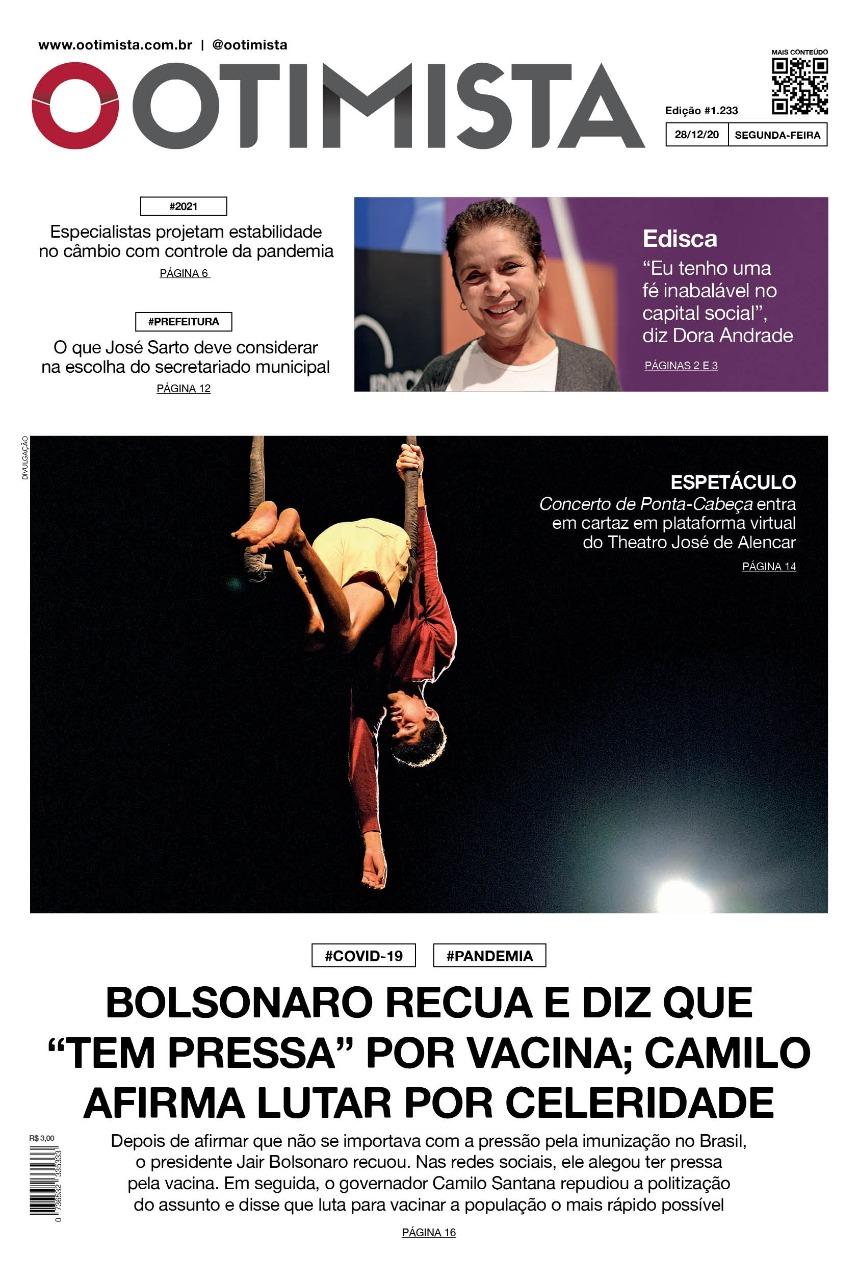 O Otimista - edição impressa de 28/12/2020