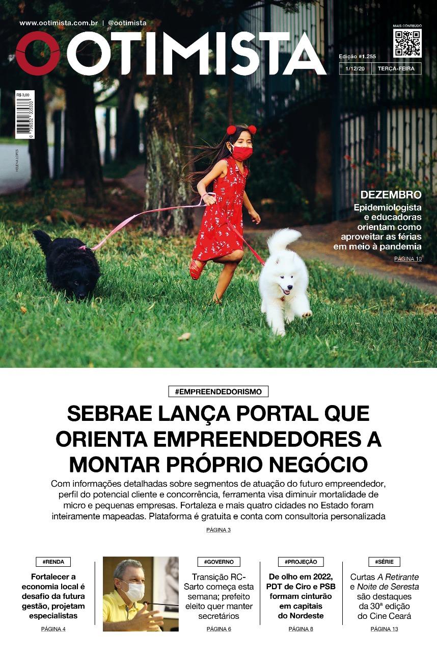 O Otimista - Edição impressa de 01/12/2020