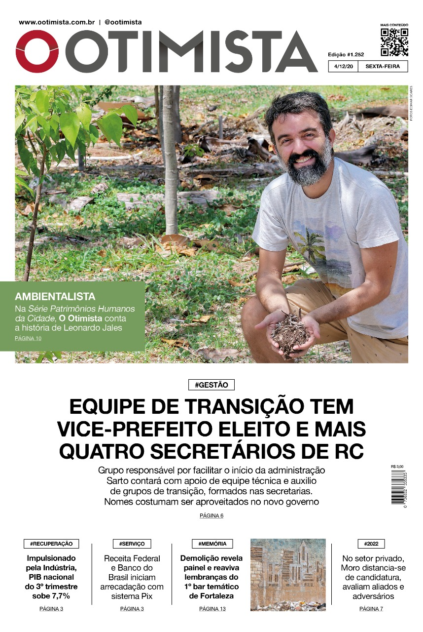 O Otimista - Edição impressa de 04/12/2020