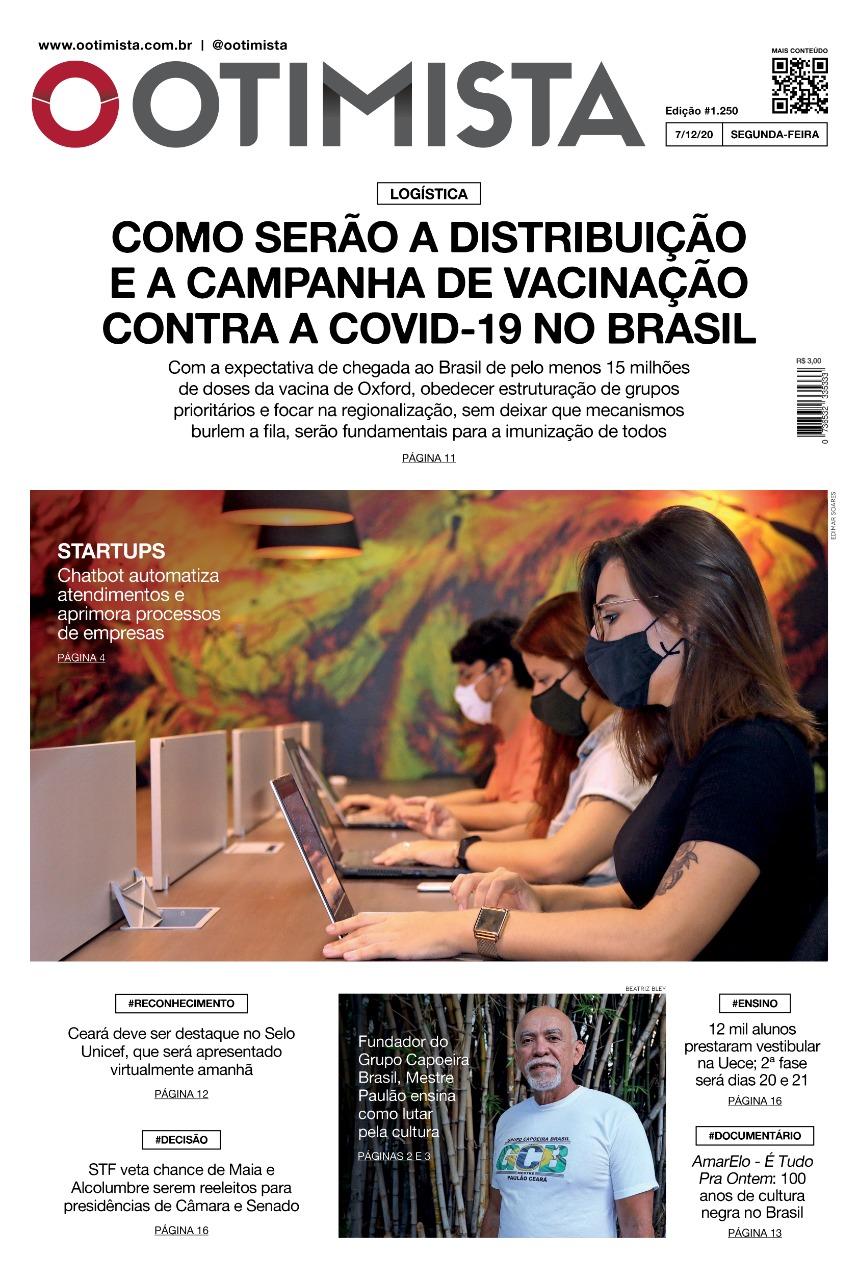 O Otimista - Edição impressa de 07/12/2020