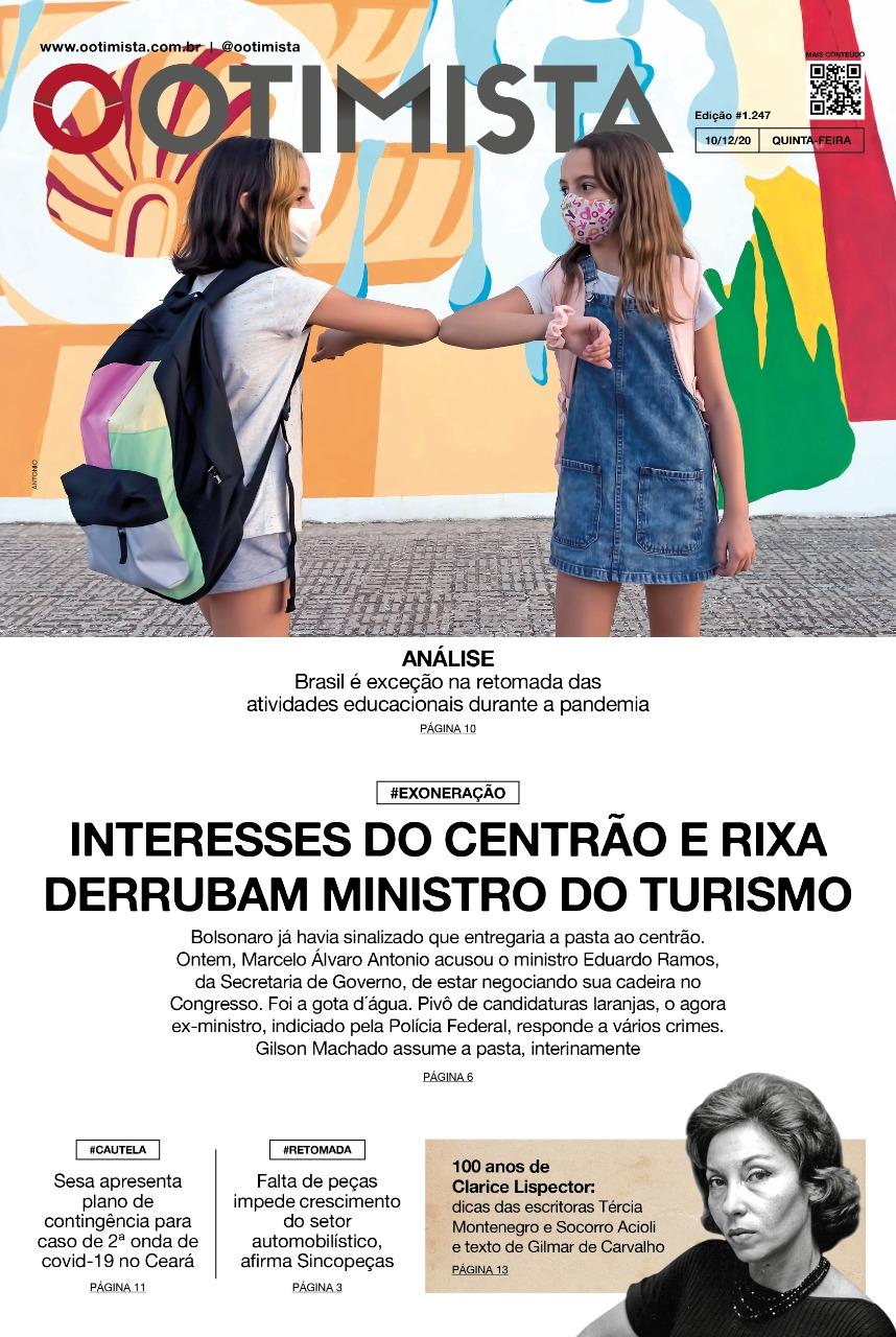 O Otimista - Edição impressa de 10/12/2020