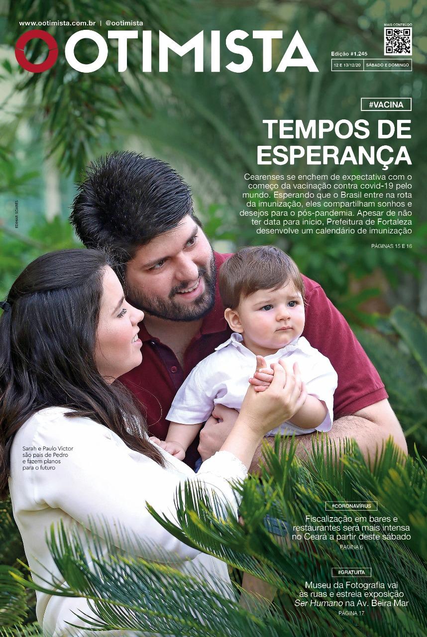 O Otimista - Edição impressa de 12 e 13/12/2020